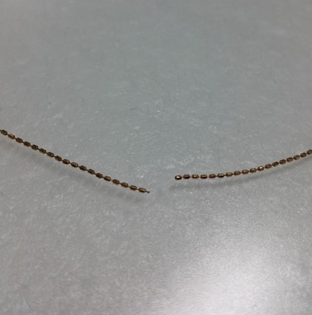 ネックレス修理 チェーン切れ修理 当日仕上げ